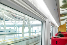 Interior Of The High-speed Tra...