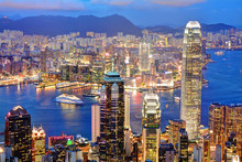 香港の夜景