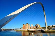 Bridge On Tyne River, Newcastl...