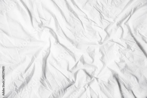 Fototapeta  Weisses Bettuch