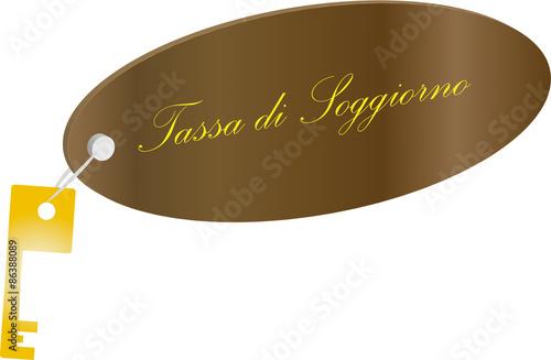 Illustrazione Tassa di soggiorno - Buy this stock illustration and ...