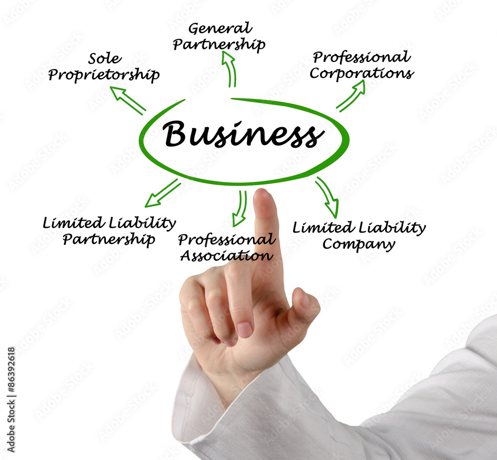 a description of the different types of business from smallest to biggest Types of ownership each type of ownership functions differently and places you in a slightly different role within the company there are different advantages to each business type and also specific requirements that you have to meet in some cases.