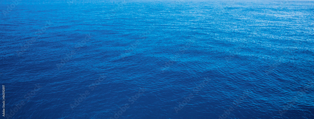 Fototapety, obrazy: blue water sea for background
