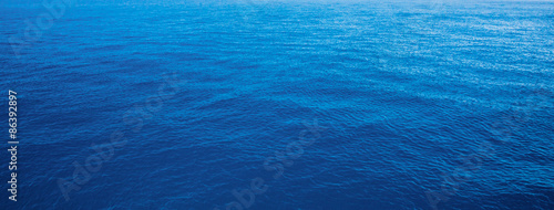 Aluminium Prints Ocean blue water sea for background