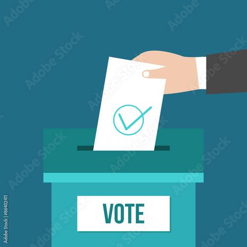 Valokuva  Voting box