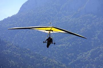 FototapetaHang Glider in the Alps