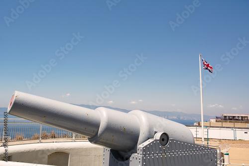 Fotografía Cannon en Punta de Europa (Reino Unido)