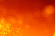 Blurred Bokeh Abstract Orange ...