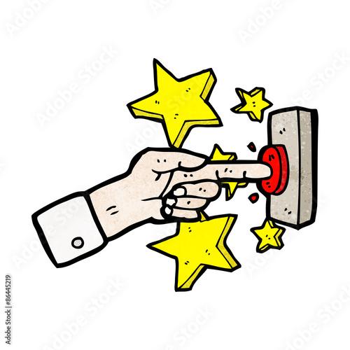 фотографія  cartoon ringing doorbell