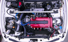 Tuned Honda B18 Engine In Integra Type R
