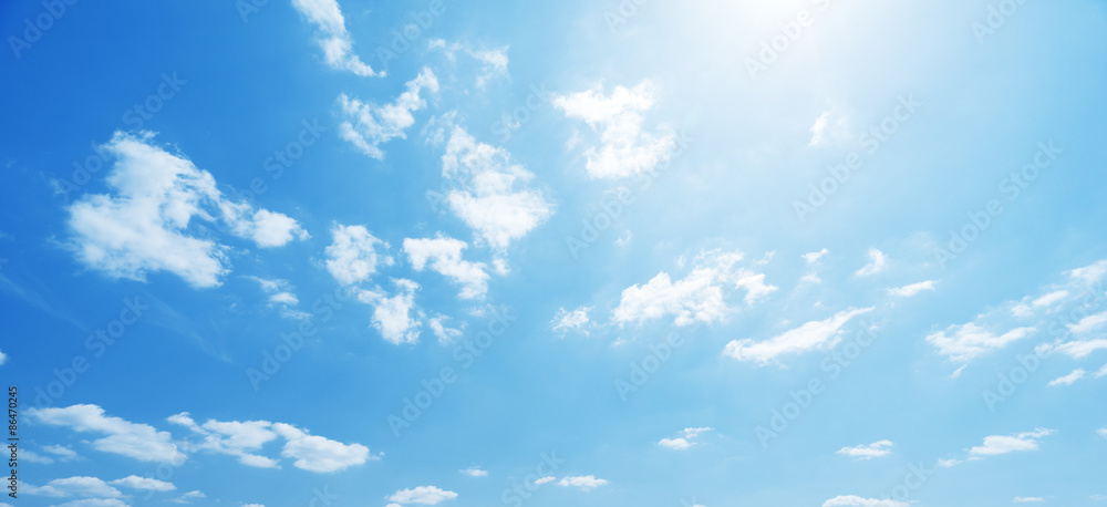 Fototapety, obrazy: sky and perfect sunny day