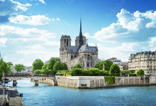 Papiers peints Paris Notre Dame de Paris, France
