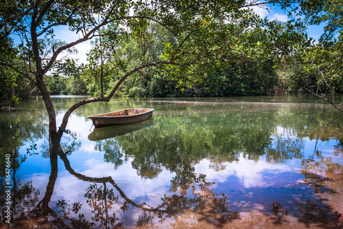 Foto  Tranquil Serene Reflections