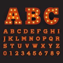 Alphabetic Font Carnival Style...