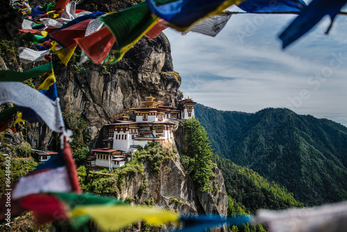 Fotografia Tiger's nest monastery, Bhutan