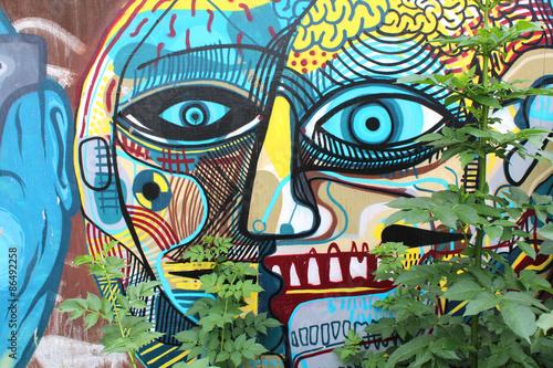 Street art / Doel (Belgique) © Brad Pict