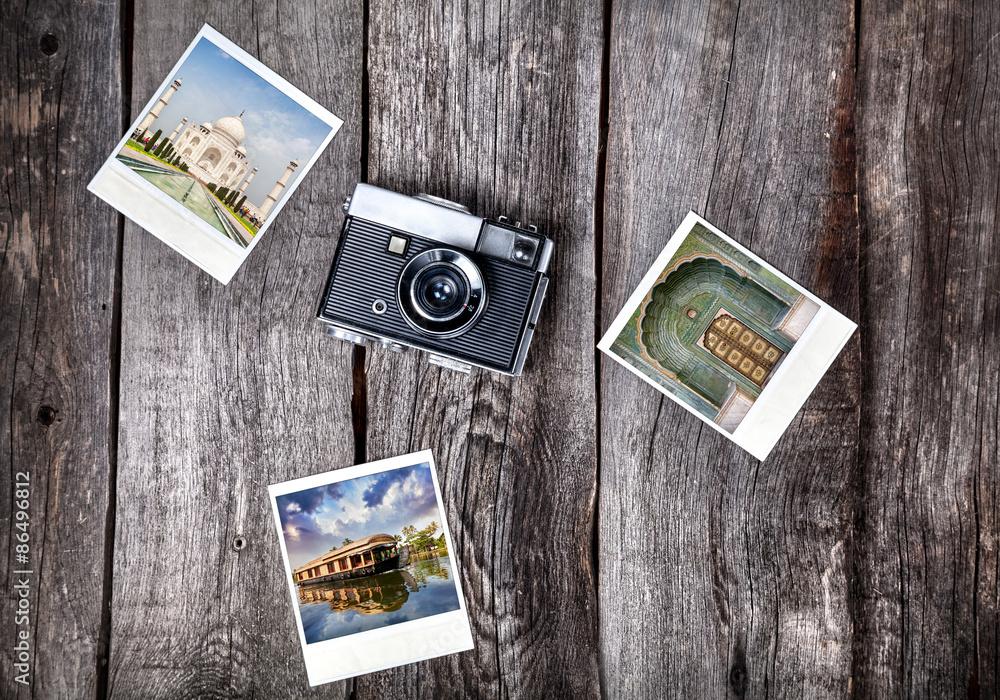 Photo  Camera and photos of India