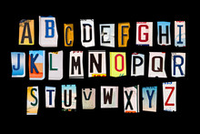 Alphabet Set Created With Brok...