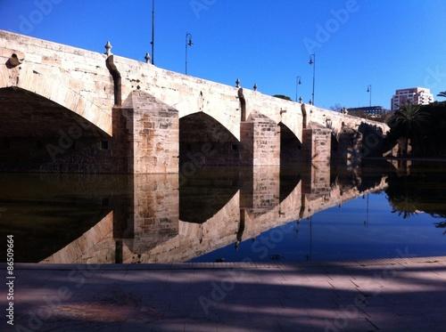 Photo Stands Ass Bridge in Valencia
