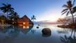 Leinwandbild Motiv Urlaub in der Karibik