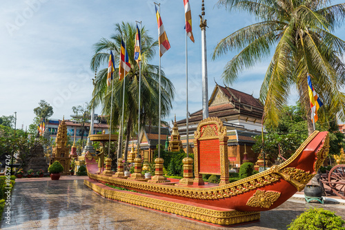 Fototapeta premium Wat Preah Ang, Siem Reap, Kambodża