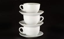 Cup, Stack, Tea.