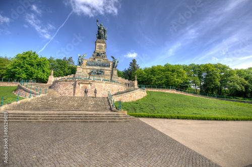 Deurstickers Artistiek mon. Rüdesheim Niederwalddenkmal