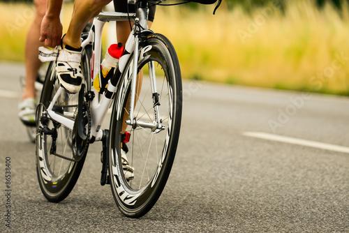 Foto op Plexiglas Fietsen Bicycle Race Triathlon