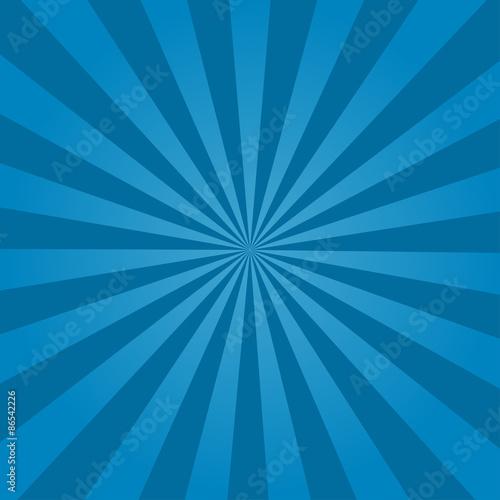 Fotografie, Obraz  Rays  background  blue