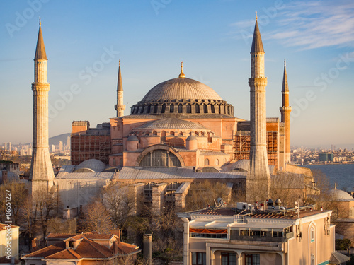 Obraz na płótnie Hagia Sophia, Istanbul