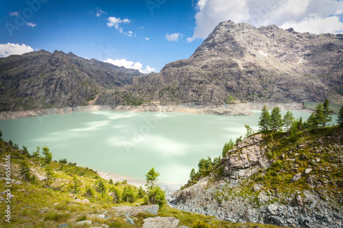 Aluminium Prints New Zealand lago alpino