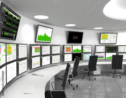 Network Operations Center Poster