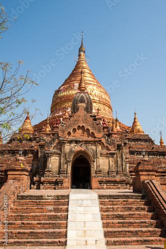 In de dag myanmar temple