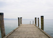 Wooden deck that overlooks Lake Garda - Veneto