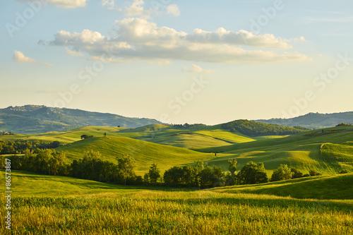 Obraz Tuscany hills - fototapety do salonu
