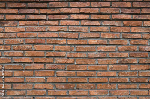 Poster Brick wall Background of old vintage brick wall