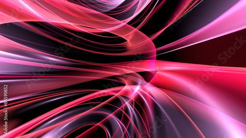 Obraz na płótnie Tło abstrakcyjne: grafika 3D