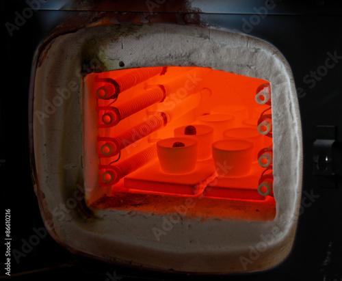 Valokuva  Smelting of  gold