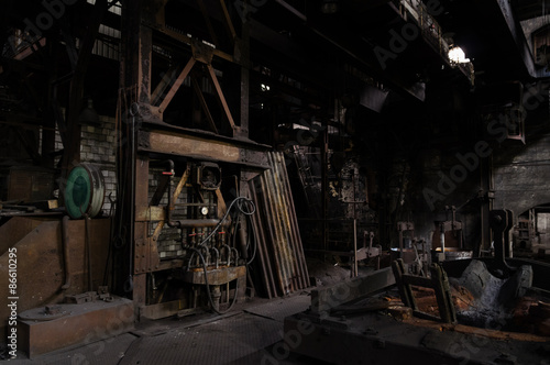 Papiers peints Les vieux bâtiments abandonnés Abandoned Foundry