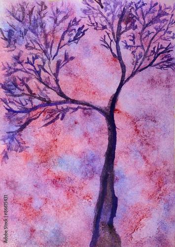 drzewo-akwarelowe