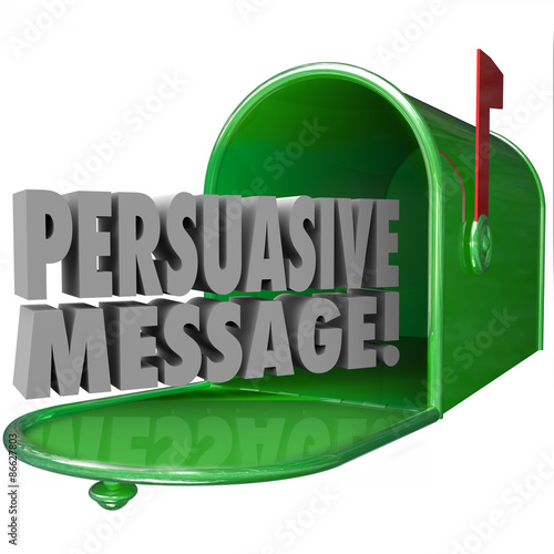 Photo  Persuasive Message Mailbox Convincing Influential Decisive