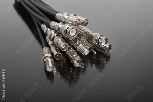 Photo  Coaxial connectors