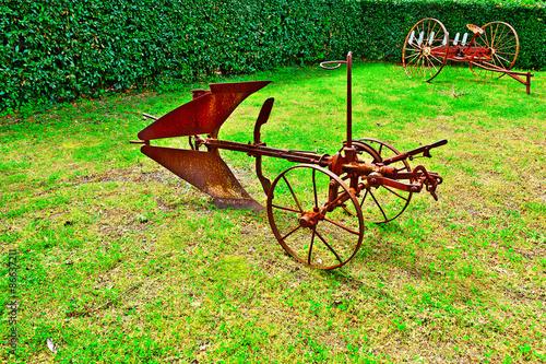 Fotografie, Obraz  Agricultural Machines