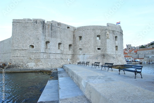 Papiers peints Fortification Fort in Old Town Dubrovnik