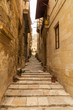 Narrow lane in Vittoriosa, Malta