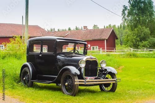 фотография  Old Ford In The Farm Yard