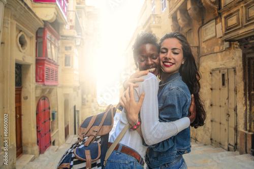 Fotografía  A tender hug