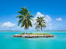 Urlaubsinsel Im Pazifik