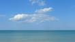 Panorama mare e cielo mediterraneo