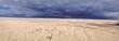 Dunkle Wolken ziehen auf - Nordseeküste